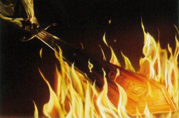 Brennendes Schwert YuliaStartsev