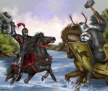 Robert Baratheon Rhaegar Targaryen M Luisa Giliberti