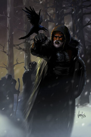Nachtwache Jeor Mormont Kraehe nickkalinin