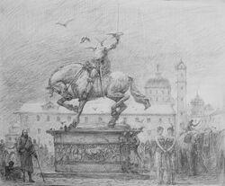 Volantis kopflose Statue Triarch Marc Fishman