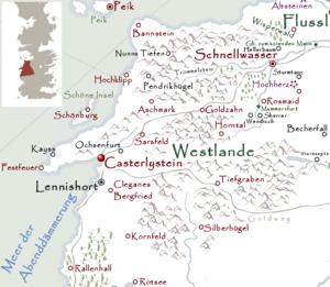 Casterlystein Karte