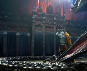 Daemon bietet Viserys Krone Chase Stone