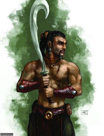 Dothraki Arakh Billy King GR