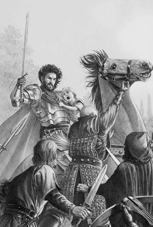 Rickard Thorn und Maelor Targaryen Douglas Wheatley