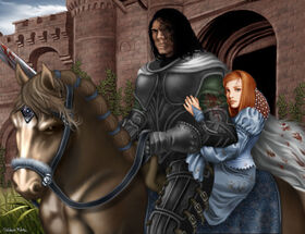 Sansa Stark Sandor Clegane M Luisa Giliberti2