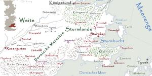 Sturmlande Karte