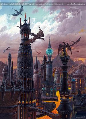 Valyria Feuer der Vierzehn Flammen Ted Nasmith