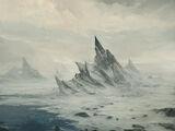 Eisige Küste
