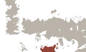World map Sorthoryos