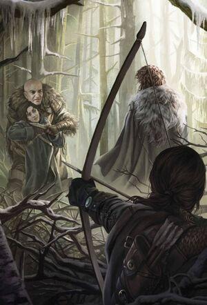 Bran Robb Theon Wolfswald Magali Villeneuve