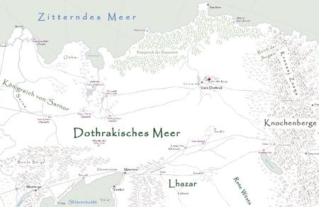 Mutter aller Berge Karte