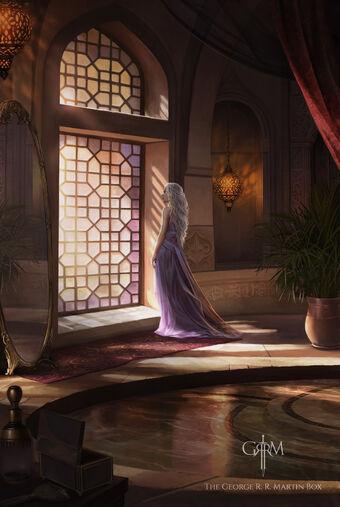 Daenerys Targaryen Magali Villeneuve