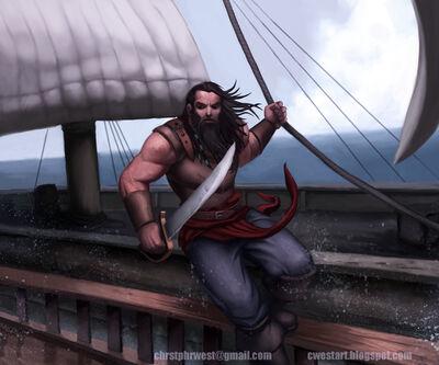 Pirat Sommermeer ChristopherWest