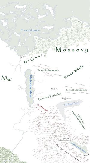 Ferner Osten Karte