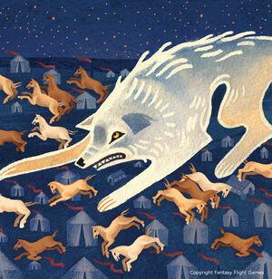 Wolf in der Nacht Serena Malyon