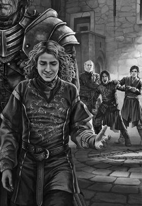 Sandor Joffrey Rodrick Robb Theon Magali Villeneuve