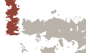 World map Westeros