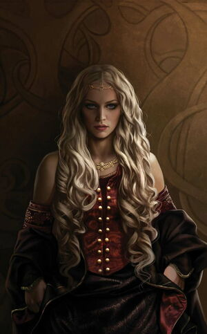 Rhaenyra Targaryen Magali VilleneuveDWVEUF