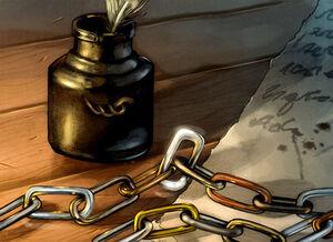 Maesterkette Tinte timdurning