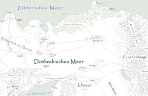 Dothrakisches Meer Karte