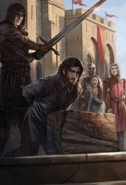 Eddards Hinrichtung Magali Villeneuve