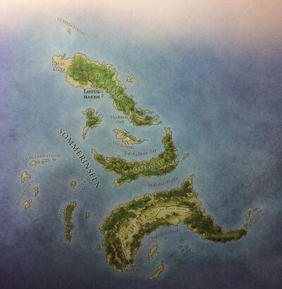 Sommerinseln Jonathan Roberts