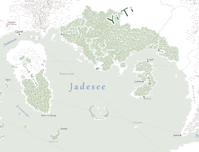 Jadesee Karte