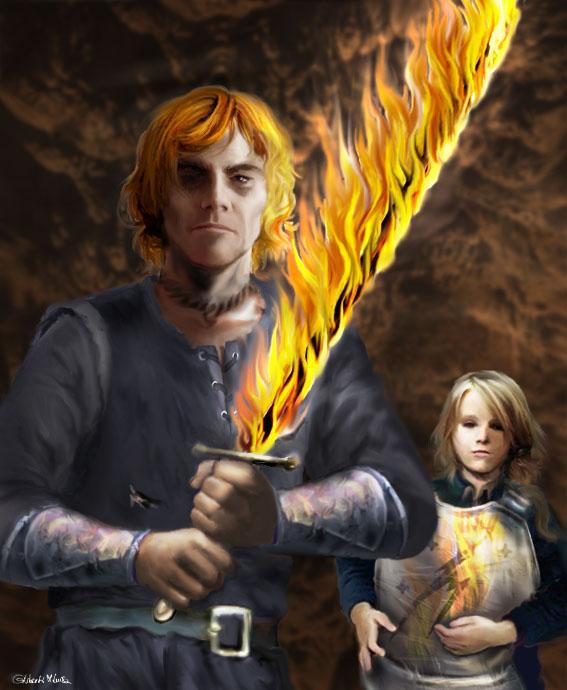 Brennendes Schwert