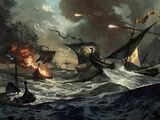 Schlacht bei der Schönen Insel