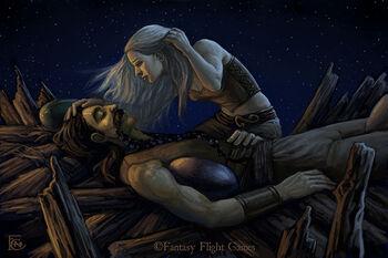 Drogo Daenerys Dracheneier FeliciaCano