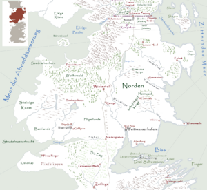 Norden Karte