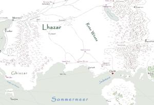 Qarth Karte
