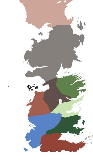 Westeros Regionen