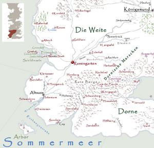 Rosengarten Karte