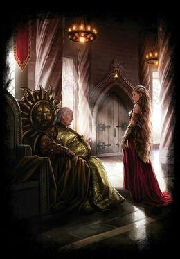 Meria Martell Rhaenys Targaryen Magali VilleneuveDWVEUF