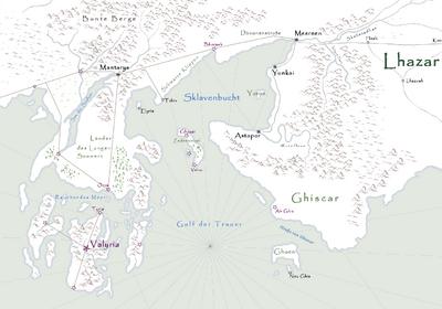 Valyria Karte