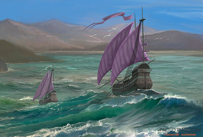 Braavos Handelsschiffe Paolo Pugioni