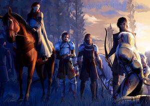 Catelyn Robb Grossjon Umber Jaime Lennister2