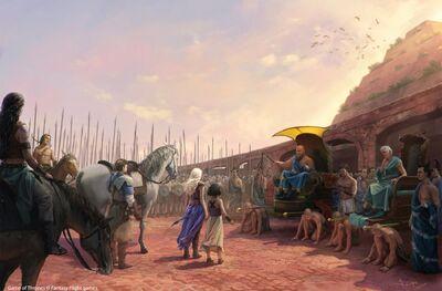 Daenerys Astapor Sklavenbefreiung JoshuaCairós