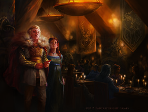 Joffrey Sansa Cassandre Bolan