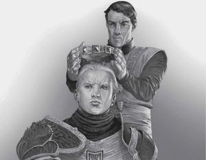 Aegon II Targaryens Krönung Douglas Wheatley