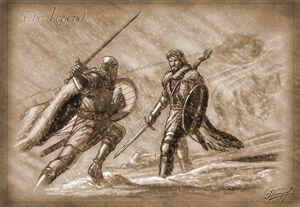 Bael gegen seinen Sohn Amok