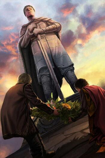 DaeronII Maron Martell Baelors Statue Magali Villeneuve