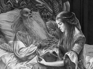 Jaehaerys I Targaryen und Alicent Hohenturm Douglas Wheatley