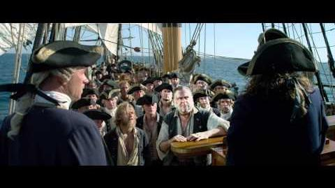 King's Men Clip - Pirates of the Caribbean On Stranger Tides