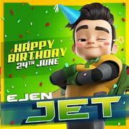 Happy birthday Jet