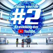 Second Trending On YouTube