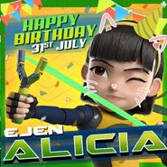 Happy birthday Alicia (2019)