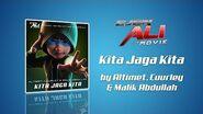 Kita Jaga Kita - Altimet x Cuurley x Malik Abdullah Lyrics Video (Ejen Ali The Movie OST)