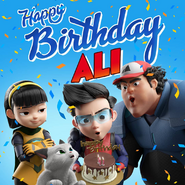 Happy birthday Ali (2019)